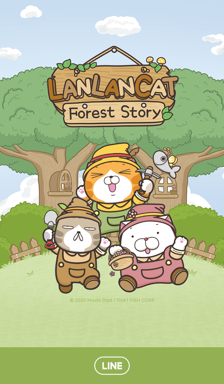 Lan Lan Cat:Forest Story