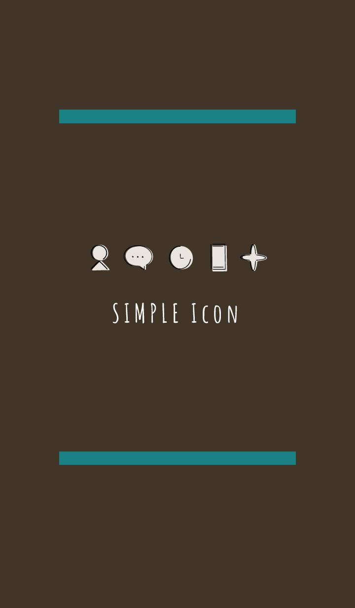 Brown Green : Simple Theme