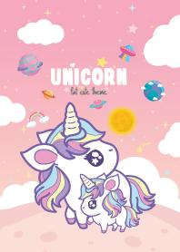 Unicorn Kawaii Galaxy Lady ...