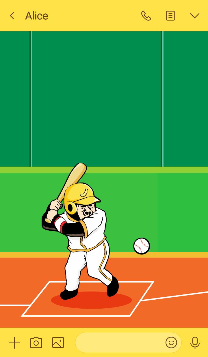 大猩猩大猩猩120棒球