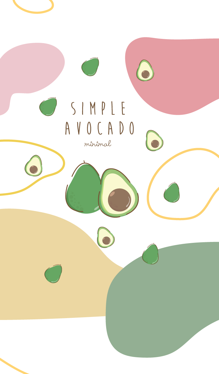 avocado minimal mix color (simple ver.)