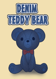 DENIM TEDDY BEAR[O]