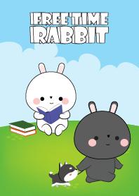Free Time Love Rabbit
