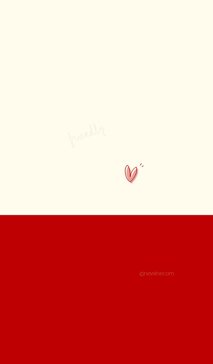 Friendly red beige