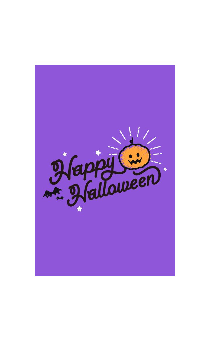 HAPPY HALLOWEEN@Halloween2019 Purple