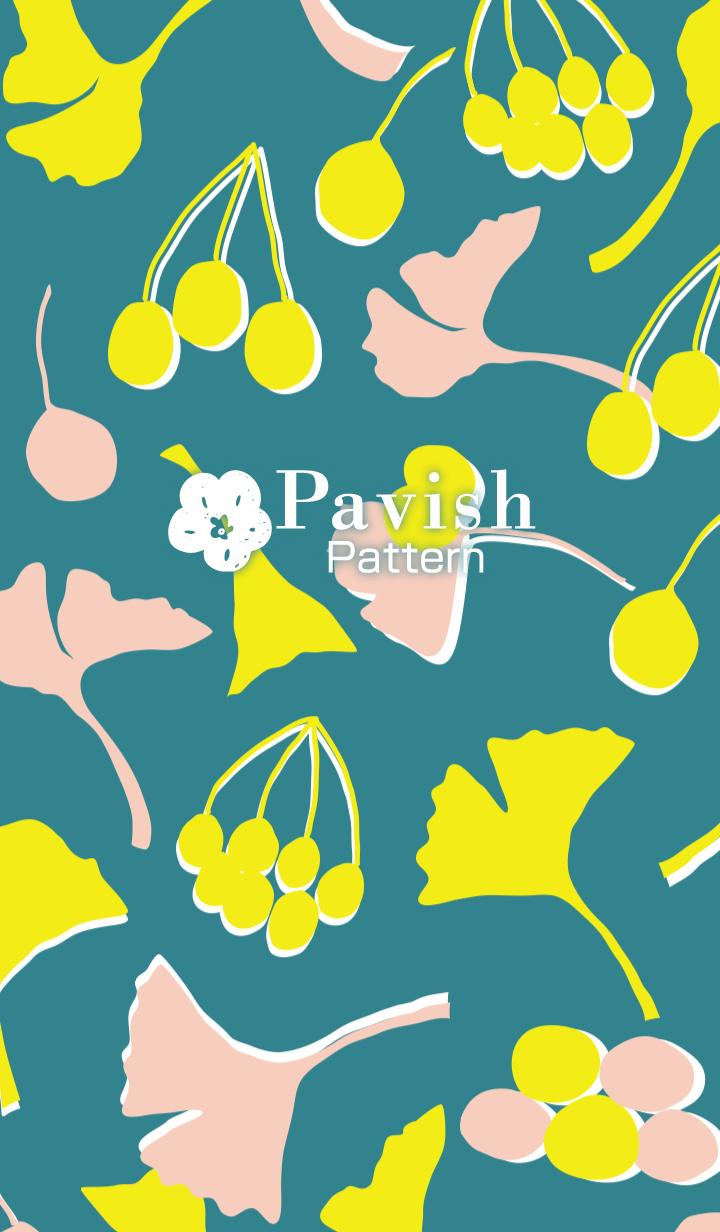 Before the deep autumn -Pavish Pattern-