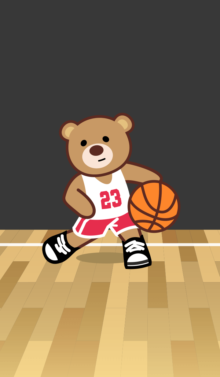 Basketball 23 Bear