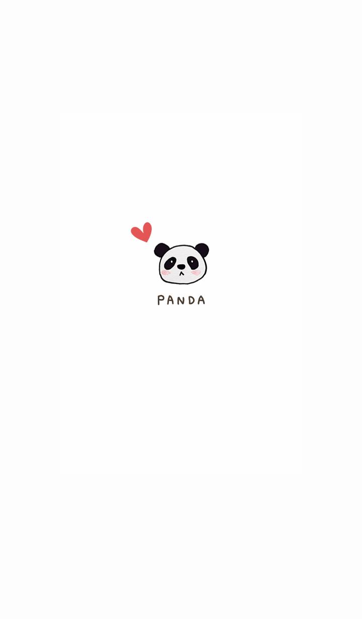 One point panda1.