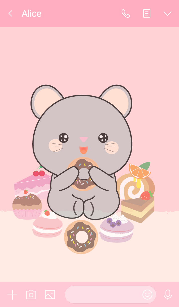 Sweet Grey Mouse Theme