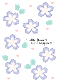 Baby blue flowers 23