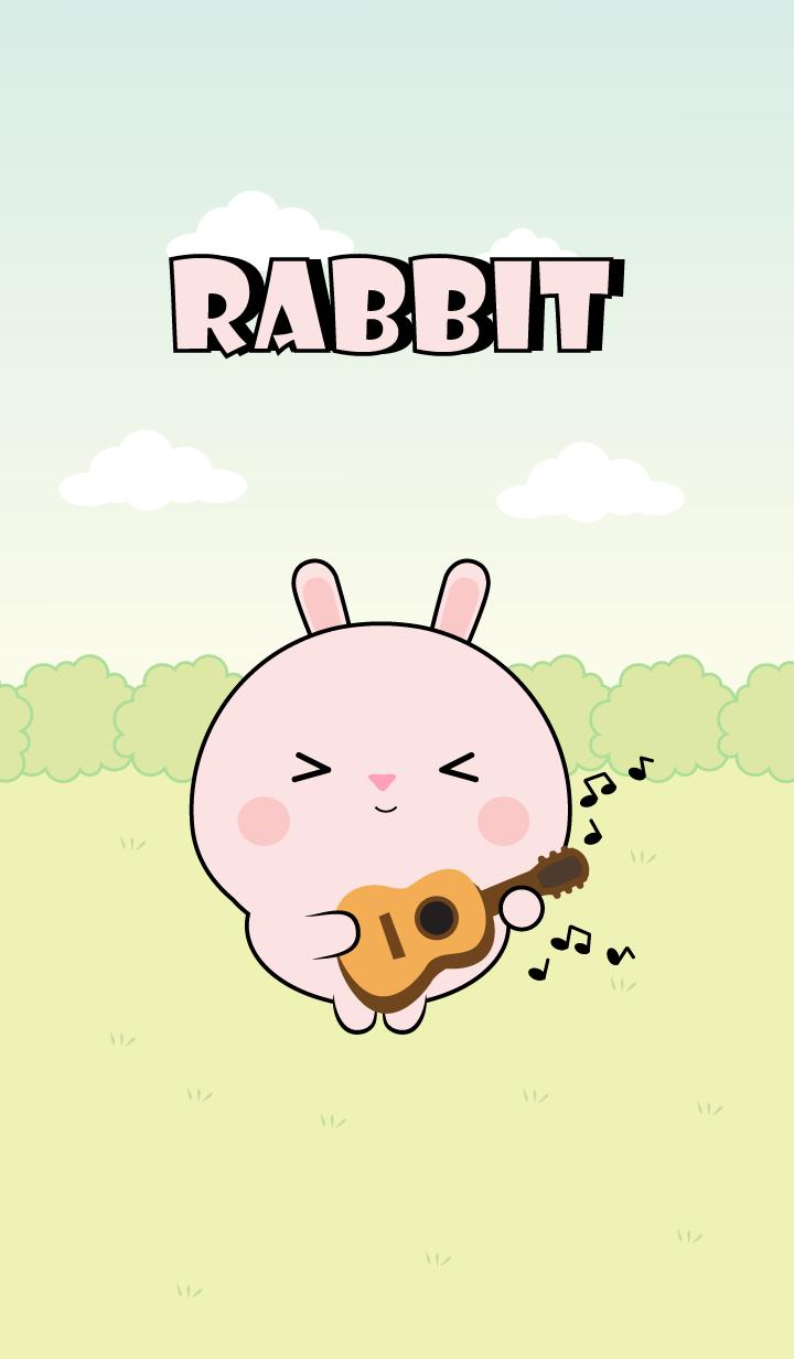 Mini Lovely Pink Rabbit Theme (jp)