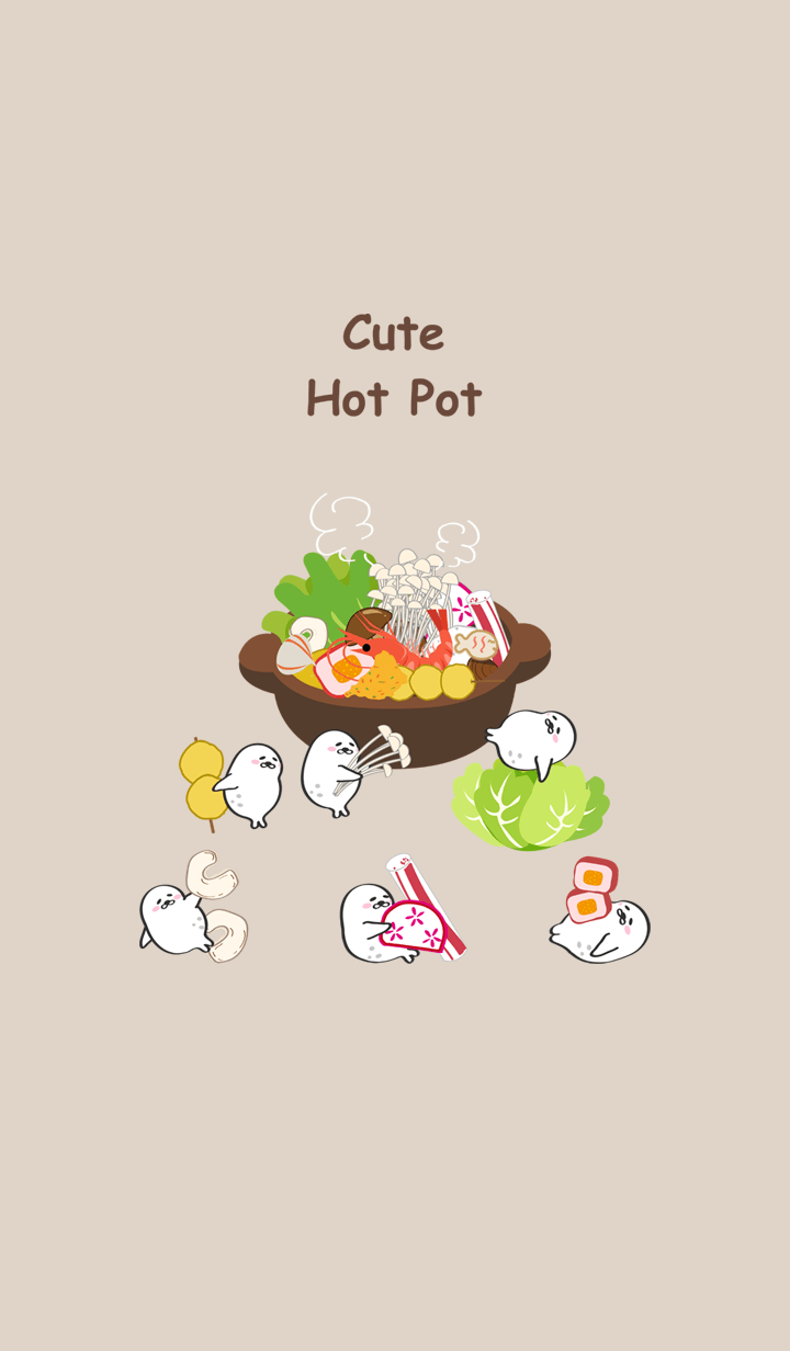 Lazy seal unit-eat hot pot!