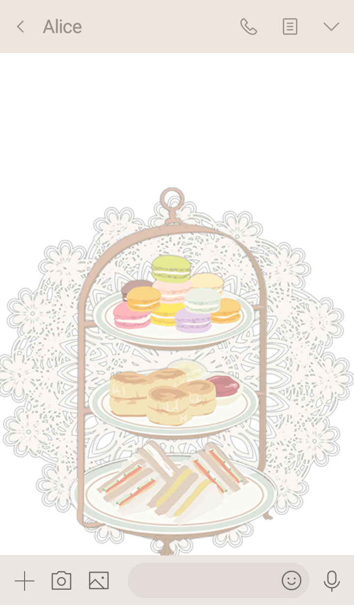 Afternoon Tea with love