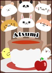 Atsumi Scandinavian mocha style