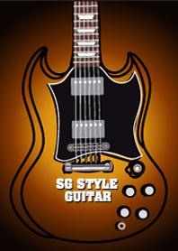 sg style guitar