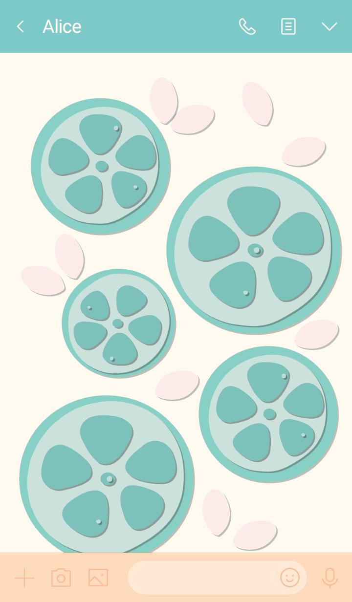Sliced lemon theme 17