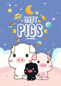 Baby Pig Galaxy Sky