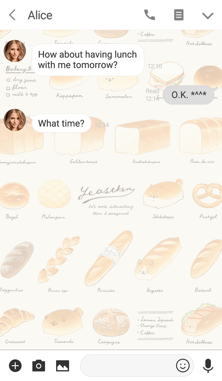 YEASTKEN -List of breads-