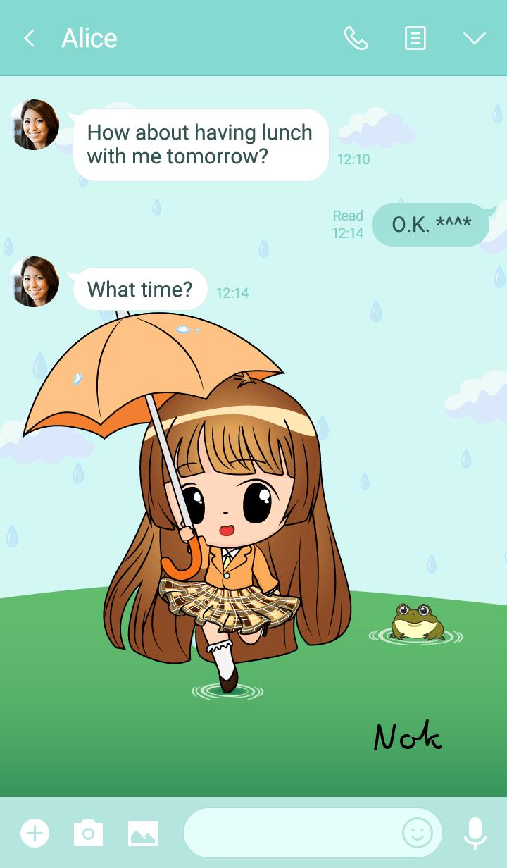 Nok - Little Rainy Girl
