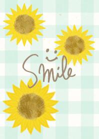 SUMMER sunflower- smile16-