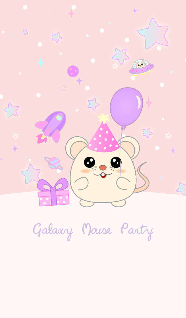 Mouse Party in Galaxy