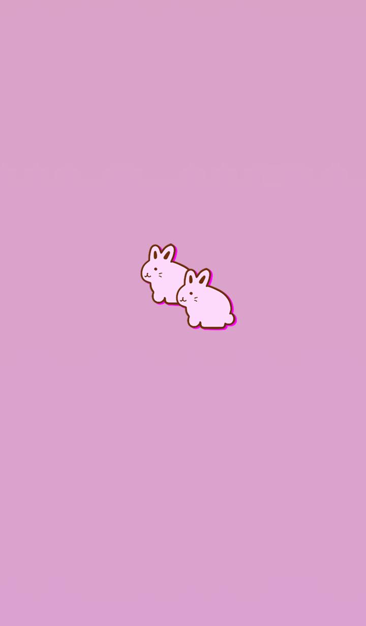 Simple money carrying rabbit 1
