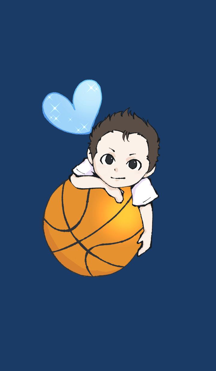Boy in Basketball club 1