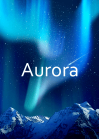 Aurora(Beautiful starry sky)