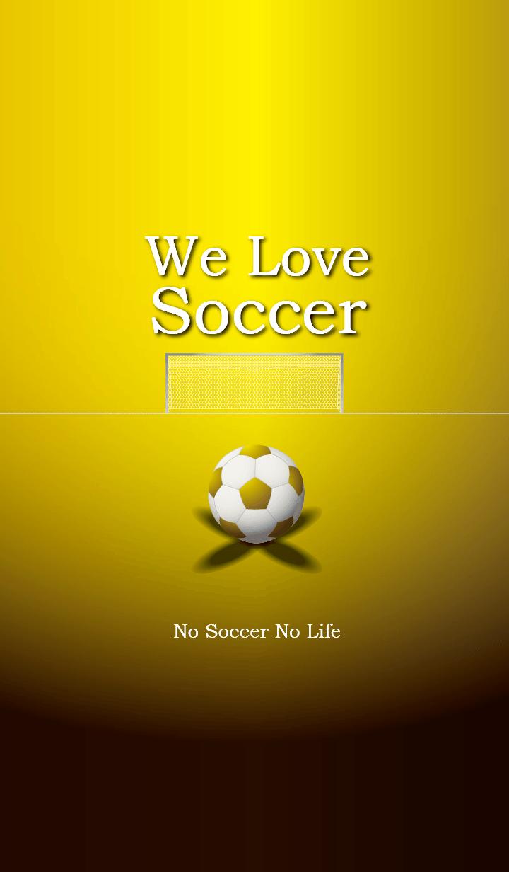 We Love Soccer (GOLD)