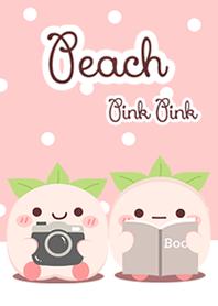 Peach Pink Pink