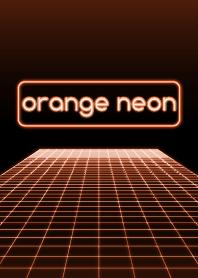 Orange Neon Light
