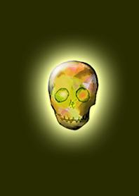 Crystal Skull Yellow