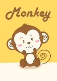 Monkey in yellow