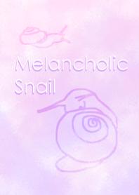 Melancholic snail