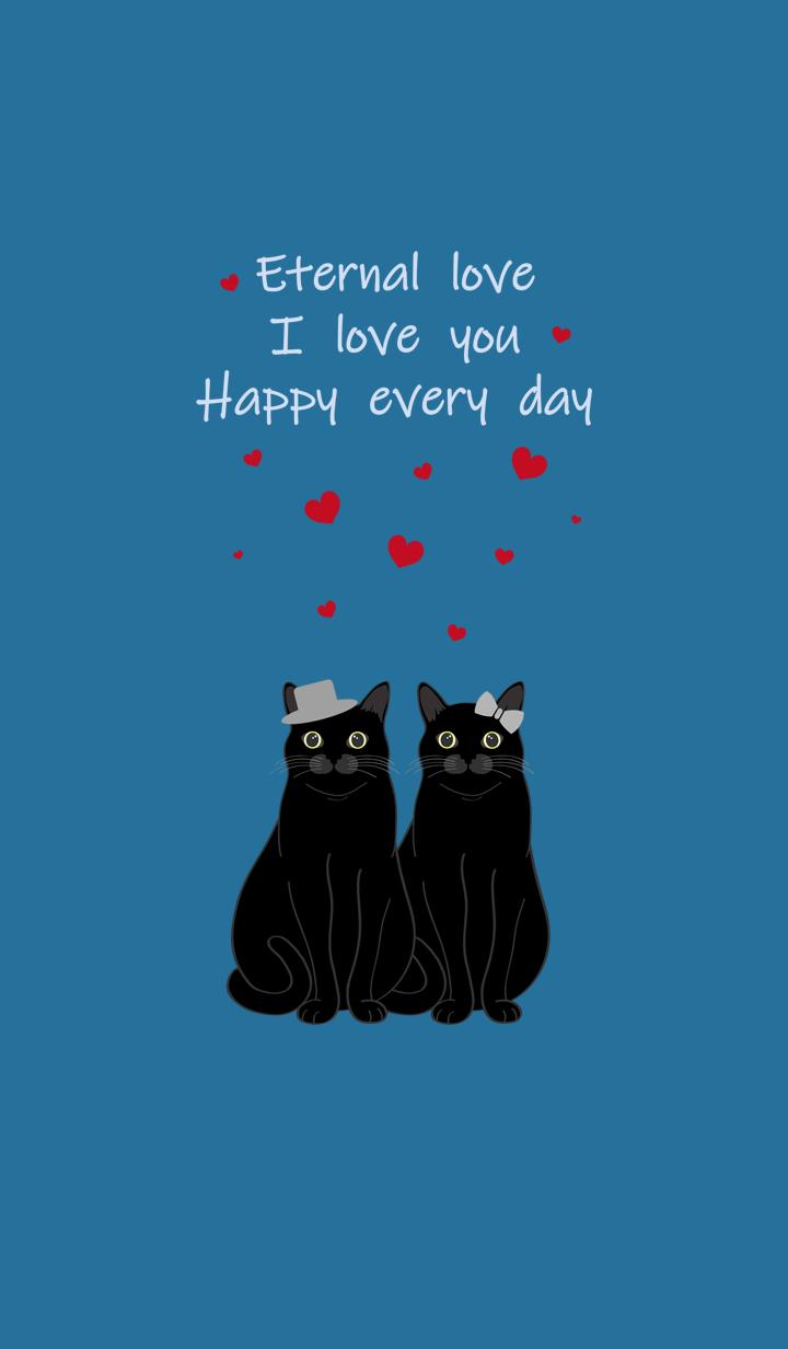 발렌타인 데이(검은 고양이)