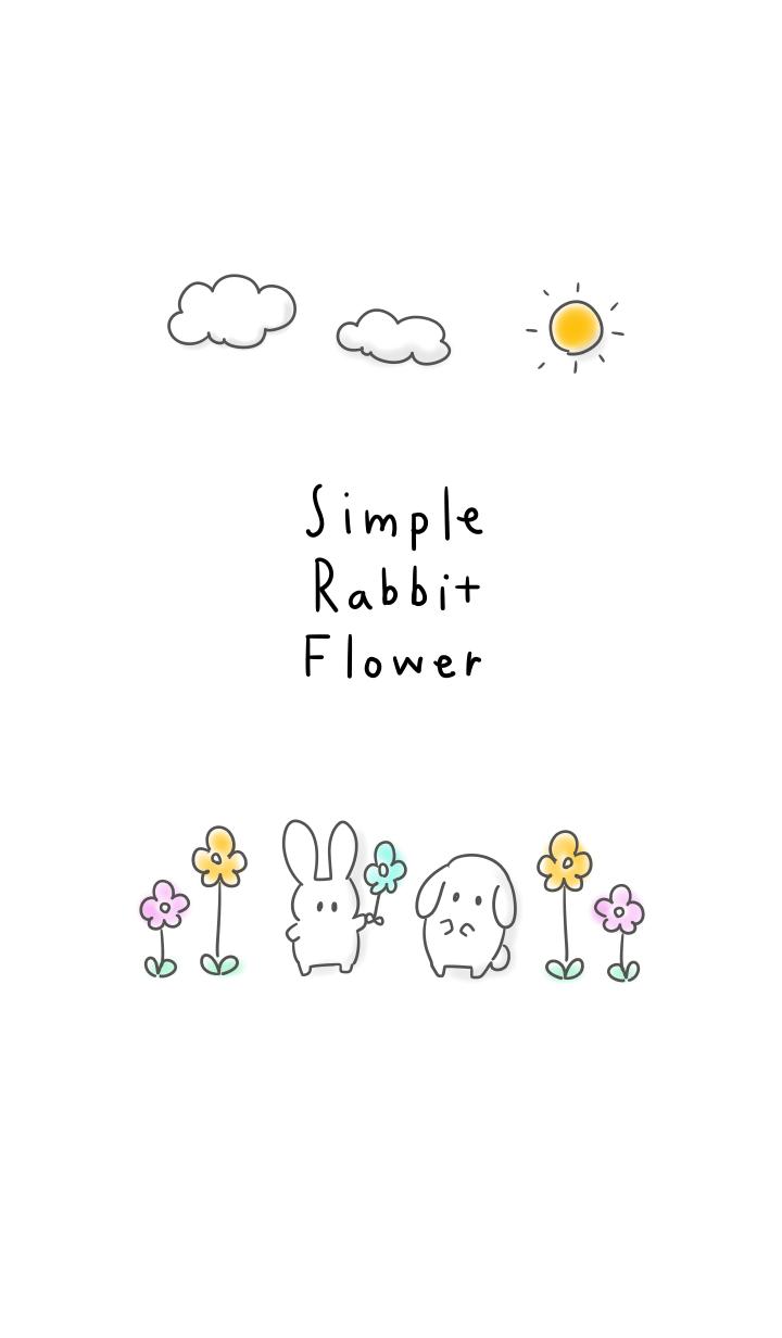 simple Rabbit Flower.