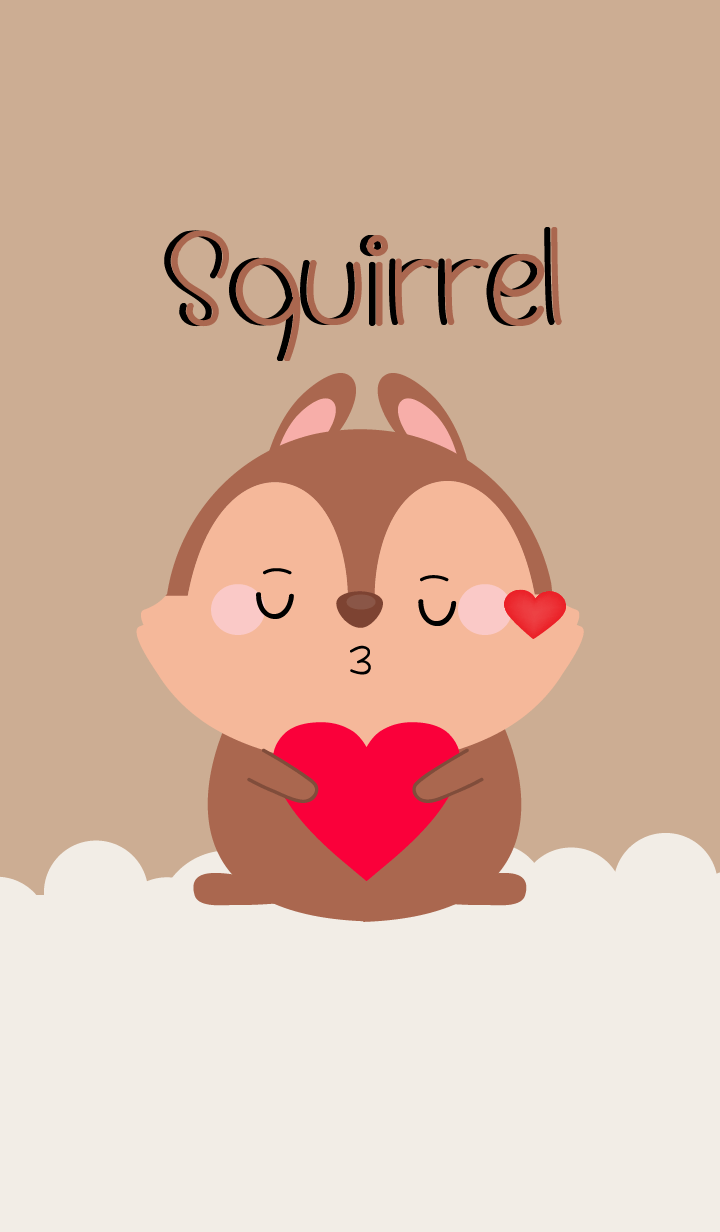 Simple Lovely Squirrel (jp)
