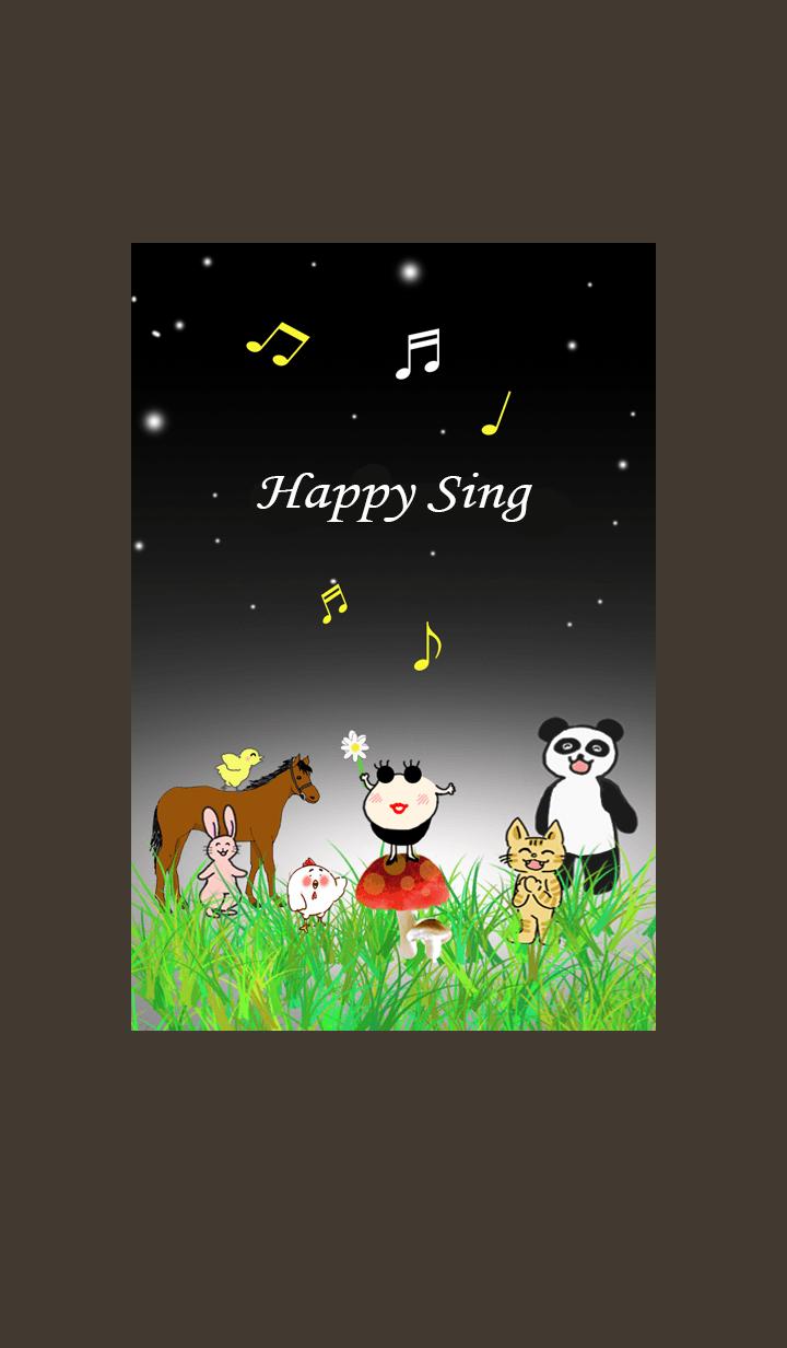 Happy animal Choir