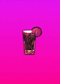 Fashionable soda red