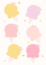 Cute ice-cream theme 70