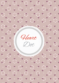 Dot4 - pink (heart)