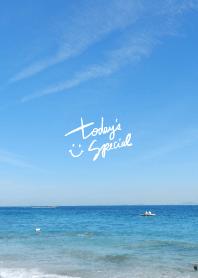 Blue sea and sky2