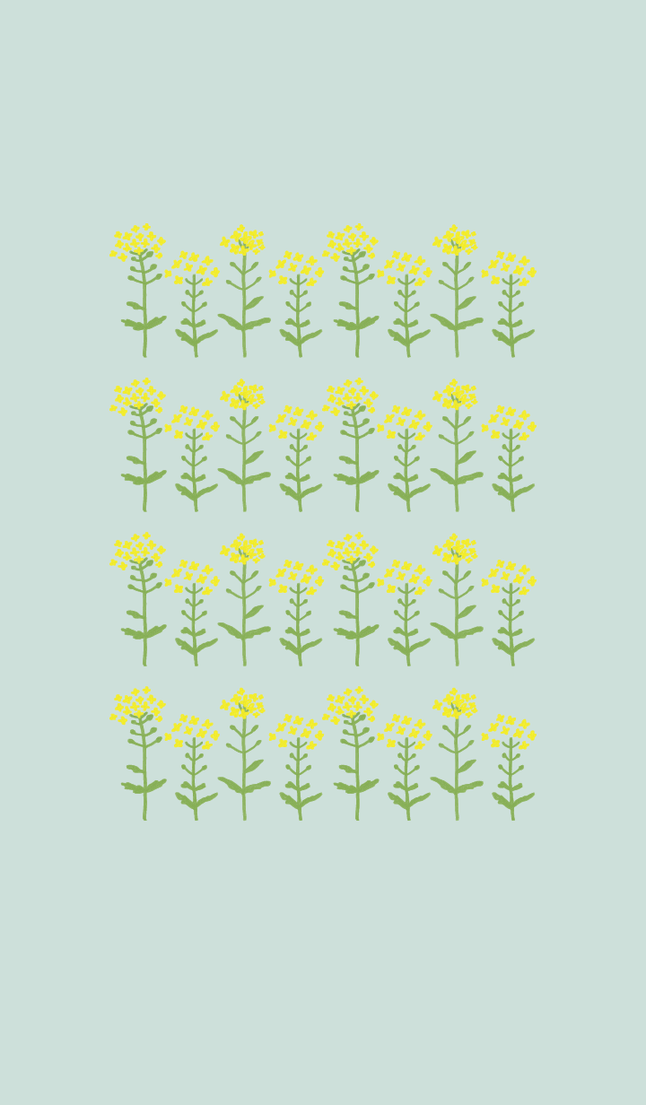 Theme of spring yellow flowers !