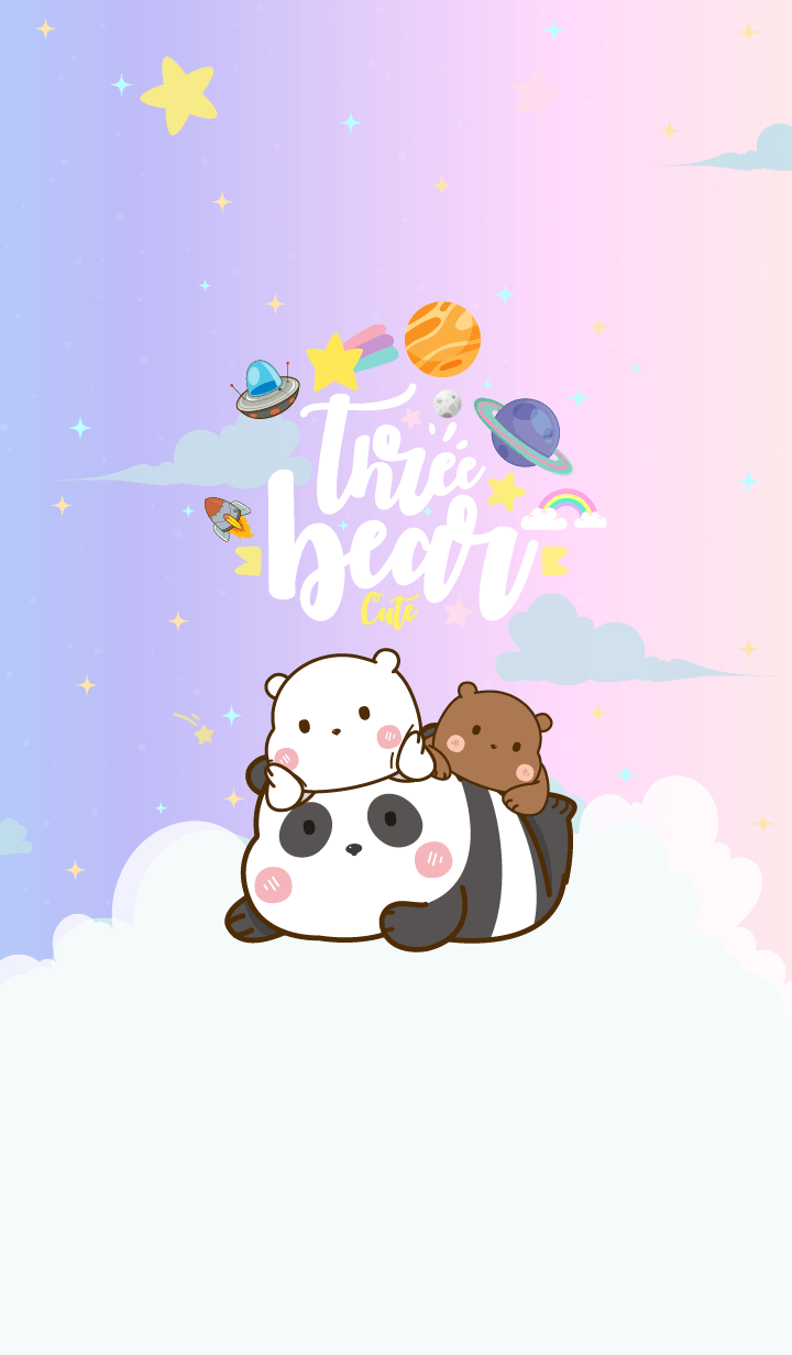Bear Cute Galaxy Cutie