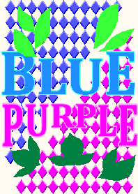 Color Wall Series Blue & Purple