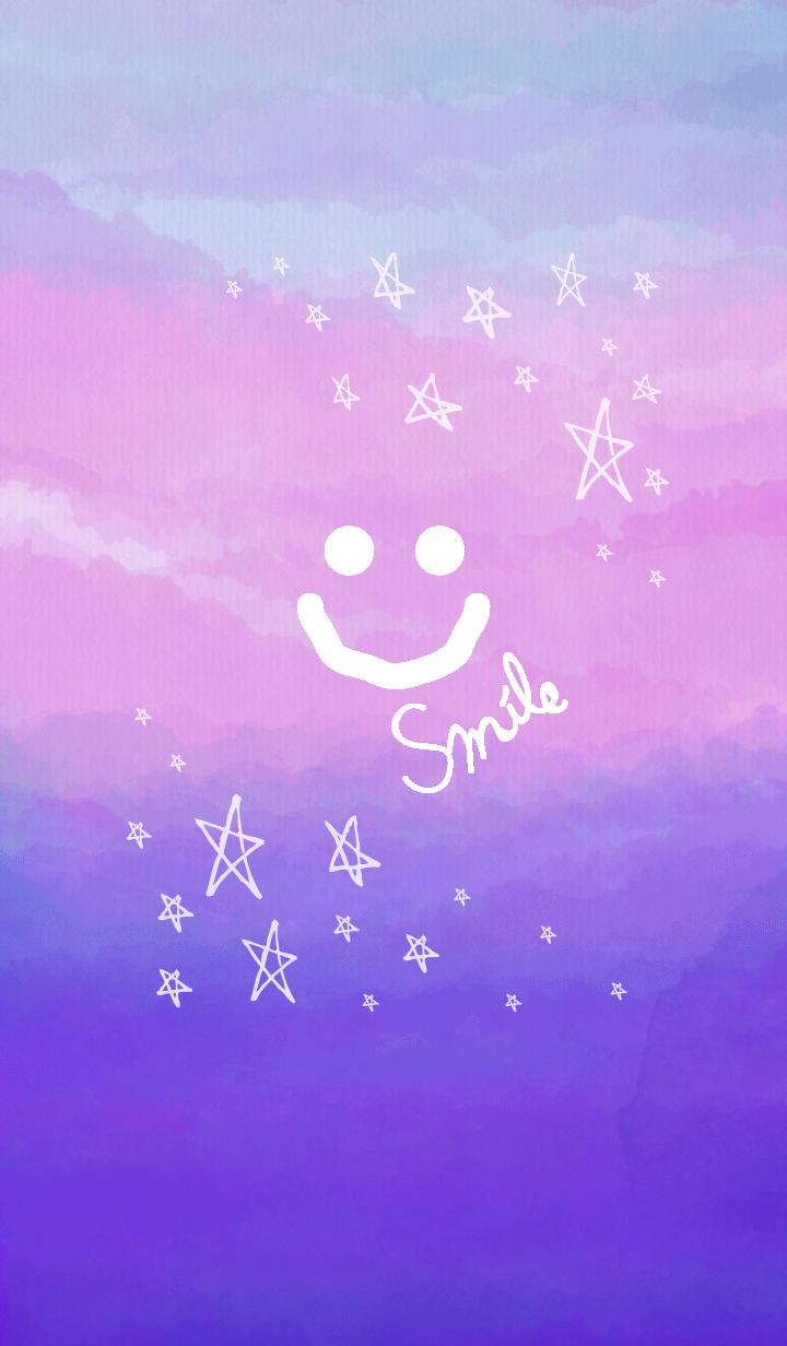 Gradation stellar smile