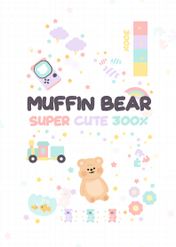 Muffin Bear : Super Cute 300%