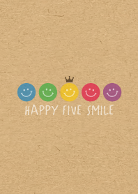 HAPPY CROWN SMILE -5color K...