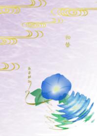 wagae~Morning Glory~Japanese pattern