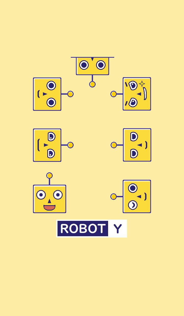 Yellow robot/Y